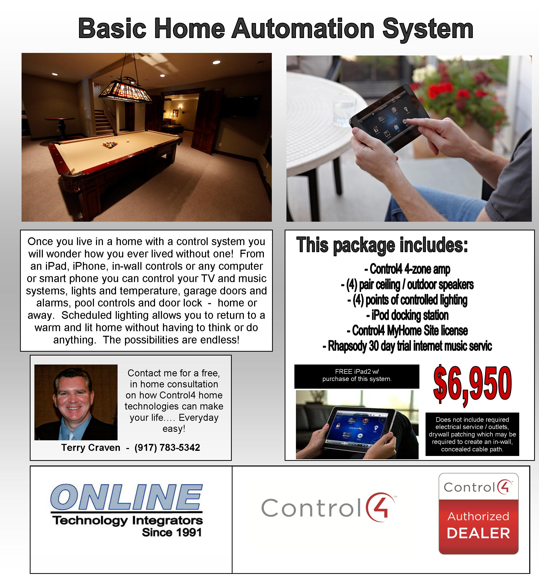 Basic C4 Home Automation