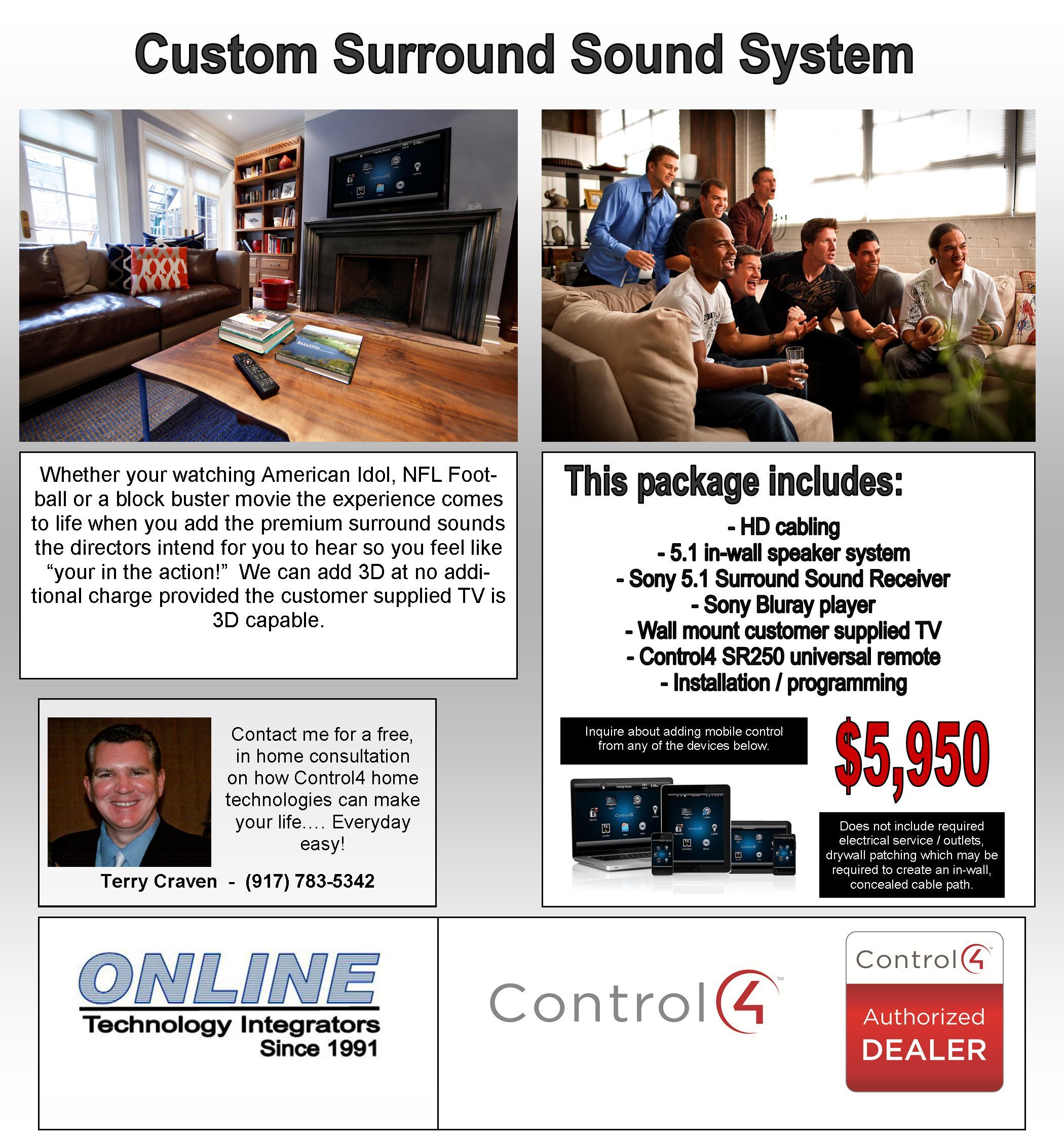 Surround Sound C4
